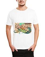 Printed T-Shirt White IB-T-M-D-131 - Ibrand