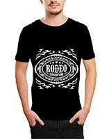Printed T-Shirt Black IB-T-M-D-132 - Ibrand