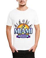 Printed T-Shirt White IB-T-M-D-134 - Ibrand