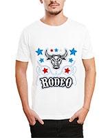 Printed T-Shirt White IB-T-M-D-144 - Ibrand