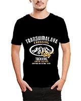 Printed T-Shirt Black IB-T-M-D-159 - Ibrand