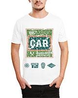 Printed T-Shirt White IB-T-M-D-174 - Ibrand