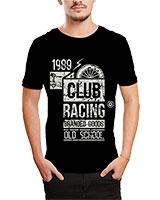 Printed T-Shirt Black IB-T-M-D-181 - Ibrand