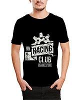 Printed T-Shirt Black IB-T-M-D-182 - Ibrand
