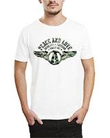 Printed T-Shirt White IB-T-M-M-13 - Ibrand