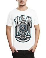 Printed T-Shirt White IB-T-M-M-16 - Ibrand