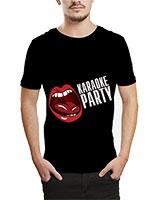 Printed T-Shirt Black IB-T-M-MU-40 - Ibrand