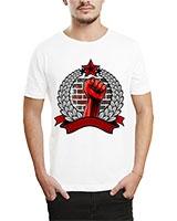 Printed T-Shirt White IB-T-M-R-02 - Ibrand