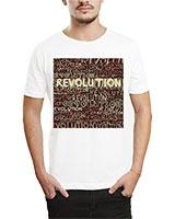 Printed T-Shirt White IB-T-M-R-05 - Ibrand