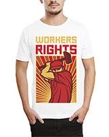 Printed T-Shirt White IB-T-M-R-12 - Ibrand