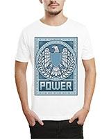 Printed T-Shirt White IB-T-M-R-20 - Ibrand