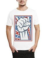 Printed T-Shirt White IB-T-M-R-24 - Ibrand