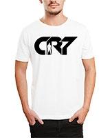 Printed T-Shirt White IB-T-M-S-770 - Ibrand