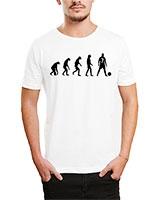Printed T-Shirt White IB-T-M-S-775 - Ibrand