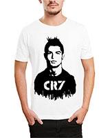 Printed T-Shirt White IB-T-M-S-779 - Ibrand