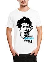 Printed T-Shirt White IB-T-M-S-784 - Ibrand