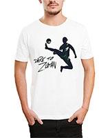 Printed T-Shirt White IB-T-M-S-785 - Ibrand
