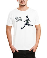 Printed T-Shirt White IB-T-M-S-786 - Ibrand