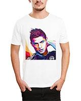 Printed T-Shirt White IB-T-M-S-804 - Ibrand