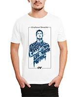 Printed T-Shirt White IB-T-M-S-807 - Ibrand