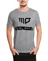 Printed T-Shirt Grey IB-T-M-S-815-1 - Ibrand