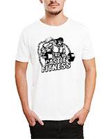 Printed T-Shirt White IB-T-M-S-819 - Ibrand