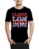 Printed T-Shirt Black IB-T-M-W-15 - Ibrand