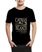 Printed T-Shirt Black IB-T-M-W-21 - Ibrand
