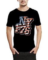 Printed T-Shirt Black IB-T-M-W-23 - Ibrand