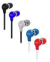 Ergonomic & Comfort Flat-wire Earphones - iLuv