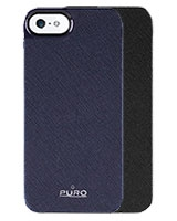Eco-leather cover for iPhone 5/5s - Puro