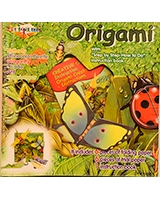 Origami Colored Paper Craft Insect World