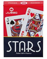 Stars Poker Playing Cards - Juego
