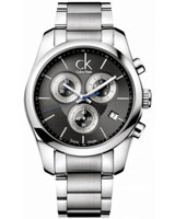 Men's Strive Chronograph Watch K0K27107    - Calvin Klein
