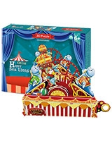 Circus Happy Sea Lion 3D Puzzle 39 Pieces - Cubic Fun