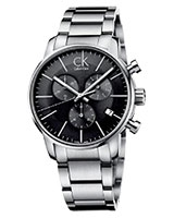 Men's Watch City Chronograph Dress K2G27143 - Calvin Klein