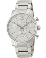 Men's Watch City Chronograph K2G27146 - Calvin Klein