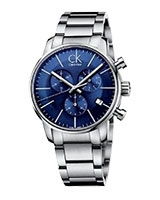 Men's Watch City Chronograph Dress K2G2714N - Calvin Klein