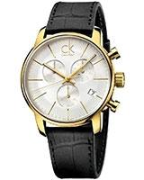 Men's Watch Gents Chronograph XL Leather K2G275C6 - Calvin Klein