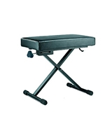 Comfortable Thick-padded Keyboard Bench KB200B - Hercules