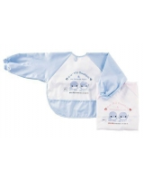 Duckbill Velcro sleeved bib L for 9-18 months - ku-ku