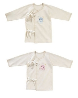 Organic undershirt S for 0-6 months - ku-ku