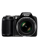 Compact Digital Camera Coolpix 20 Megapixels L-340 - Nikon Case 167S + SD Card 8GB