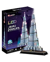 Burj Khalifa 3D Pieces 136 Pieces - Cubic Fun