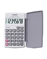 Portable Calculator White LC-401LVBK - Casio
