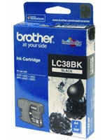 Ink Cartridge LC38BK - brother