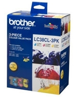 Ink Cartridge LC38CL3PK - brother