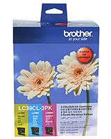 Ink Cartridge Colour 3 Pack LC39CL3PK - brother