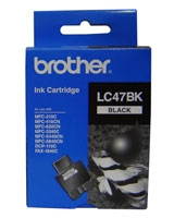 Ink Cartridge LC47BK - brother
