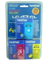 Ink Cartridge LC47CL3PK - brother